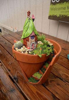 Create Cute Fairy Garden Ideas 63