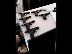 PRF prende duas mulheres que transportavam doze pistolas em ônibus no Pa...