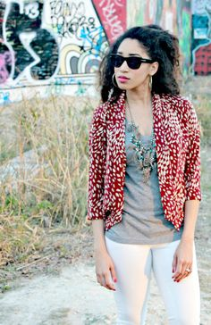 OOTD: Prints and Graffiti chanelwears.com