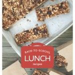 Back to School Lunch Ideas E-Book