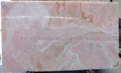 PINK ONYX marble  This natural stone is gorgeous and, looks wonderful after all finishing has been done, Marble can be use as wall cladding, bar top, fireplace surround, sinks base, light duty home floors, and tables.