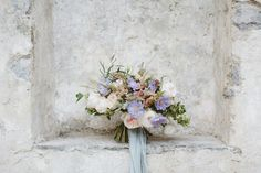 A gorgeous bridal bouquet in pastel hues tied with a blue silk ribbon From : Calm, Ethereal & Romantic Lake Como Wedding Inspiration Ethereal Wedding, Elegant Wedding, Lake Como Wedding, Destination Wedding, Lake Como Italy, Handfasting, Italy Wedding, On Your Wedding Day, Sorrento Italy