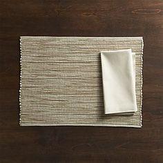 Sonoma Sand Placemat and Fete Ecru Napkin