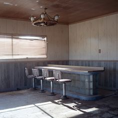 By Bryan Schutmaat   I love old diner's , the light fixture is amazing !