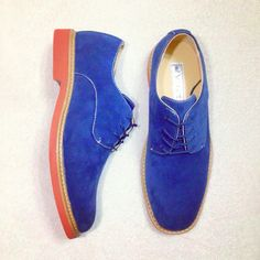 Perfect blue male shoes #shoes #menswear #footwear #fashion #blue #addictive