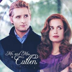 Mr.and Mrs. Cullen