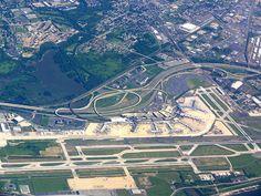 """""""Aeroporto Internacional de Filadélfia"""". #Filadélfia. Pensilvânia, USA."""