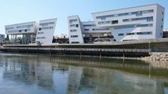Spittelau Viaducts, Zaha Hadid | Vienna | Austria | MIMOA Structural Expressionism, Late Modernism, Otto Wagner, Deconstructivism, Urban Fabric, Zaha Hadid Architects, Vienna Austria, Postmodernism, Home Projects
