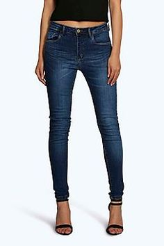Evie Low Rise 5 Pkt Skinny Jeans