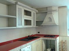 cucina su misura con frigo smeg | copricaloriferi, copri fancoil ...