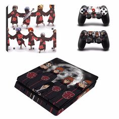 Naruto Vinyl Decal Skin Stickers for Sony PlayStation 4 Slim //Price: $20.99 & FREE Shipping //   #goku #anime
