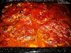 Čertova krkovička - Recept Salsa, Mexican, Treats, Ethnic Recipes, Fitness, Sweet Like Candy, Goodies, Salsa Music, Sweets