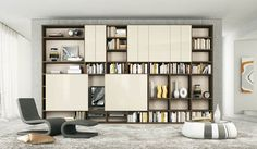 Cream and Brown Shelves with Sliding Doors TV Stand: Cream and Brown Shelves with Sliding Doors TV Stand