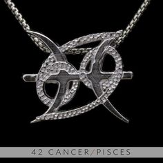 The Cancer & Pisces unity symbol <3 Very cute tattoo indeed