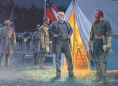 """"""" The Return of Stuart"""" by Mort Kunstler Civil War"""