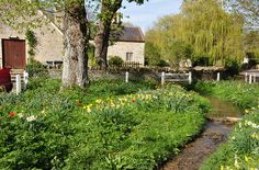 Cotswolds Swinbrook village Windrush DSC_0003 by bwthornton on Flickr.