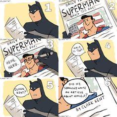 [Fan Art] The Greatest Detective Everyone (source: ig : DCcomics Really Funny Memes, Stupid Funny Memes, Funny Relatable Memes, Haha Funny, Hilarious, Funny Stuff, Nananana Batman, Univers Dc, Superhero Memes