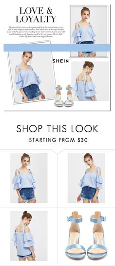 """""""NEW SHEIN CONTEST!"""" by majagirls ❤ liked on Polyvore featuring Gianvito Rossi"""