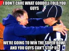 Yes fuck Roger Goodell.. Brady owns you! #TB12
