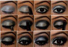 maquiagem para formatura com brilho fácil de fazer
