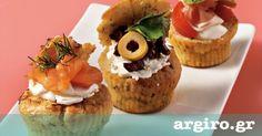Ιδανική συνταγή για καλέσματα, πάρτυ και brunch. Food Categories, Greek Recipes, Yummy Cakes, Baked Potato, Cupcake Cakes, Cupcakes, Muffins, Cooking Recipes, Breakfast