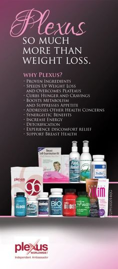 Plexus is a great weight loss product, get started today! http://tamaras.myplexusproducts.com/products