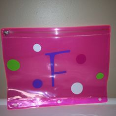 Supply holder ~$6 (lots of color options)!