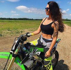 Triumph Motorcycles, Custom Motorcycles, Bobbers, Ducati, Lamborghini, Mercedes Benz, Motocross Girls, Motorcross Bike, Chicks On Bikes