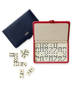 Mark and Graham Travel Domino Set | Find unique ideas sure to thrill all of the men in your life from our 2016 Christmas and Holiday Gift Guide.