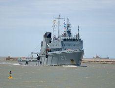 Ceremonia de recepción en la Armada argentina de los buques rusos destinados a la Base Naval Puerto Belgrano-noticia, defensa.com