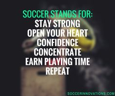 What does #soccer mean to you?