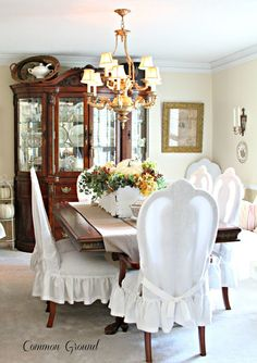 Vintage inspired French Country home tour - Debbiedoo's