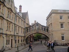 Hertford Bridge - The Bridge of Sighs (Oxford) [not to be confused with the one in Venice]