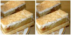 The best apple pie with meringue: it melts on the tongue! Dog Recipes, Easy Cake Recipes, Dessert Recipes, Best Apple Pie, Apple Crisp Easy, Dog Cakes, Shortcrust Pastry, Dessert Sauces, Yummy Cakes