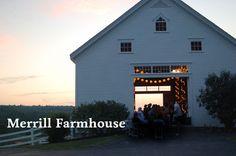 Merrill Farm- New Gloucester, Maine Portland Wedding Venues, Maine Wedding Venues, Farm Wedding, Wedding Ideas, Dream Wedding, Wedding Bells, Wedding Styles, Wedding Stuff, Old New Borrowed Blue