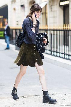 ピーターパンのようなスカート。