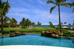 "HALE AOULI   Big Island   Hawaii   Luxury Home   HALE AOULI means ""Blue Vault of Heaven"" in Hawaiian."