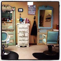 My salon mirrors are done! I love them!