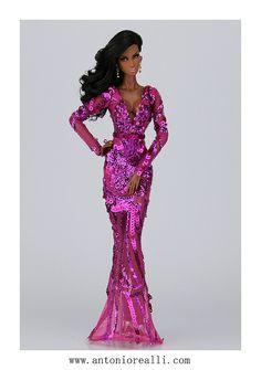 Image may contain: 1 person Barbie Gowns, Barbie Dress, Barbie Clothes, Fashion Royalty Dolls, Fashion Dolls, Original Barbie Doll, Custom Barbie, Poppy Parker, Beautiful Barbie Dolls