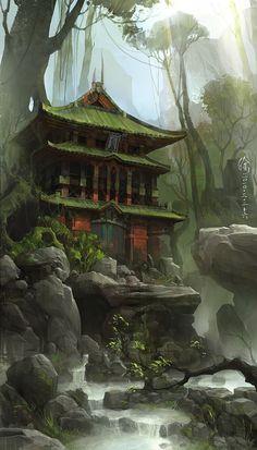 Templo en las Afueras de Laddrigar