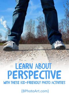 Learn About Perspective with these kid friendly photo activities!