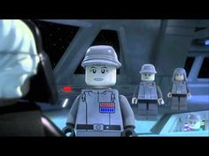 Lego Star Wars The Empire Strikes Out (Funny Lego Mini Film)