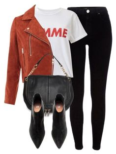 """""""Untitled #6722"""" by laurenmboot ❤ liked on Polyvore featuring River Island, Miss Selfridge, Topshop, MANGO and H&M"""