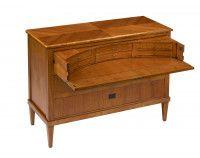 Деревянный комод-бюро с выдвижной столешницей Art Deco