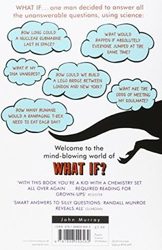 What If?:  Serious Scientific Answers to Absurd Hypothetical Questions ☆ That'll hit my doormat in a few weeks.