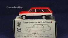 TOMICA LV50b NISSAN SKYLINE C10 VAN 1968 | 1/64 | DEALER SERVICE | TOMYTEC 2007