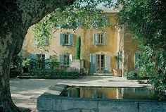 Atlanta Interior designer Ginny Magher used Bruno and son, Alexandre, Lafourcade for the restoration of her eighteenth century farmhouse,  Le Mas de Baraquet, and it's grounds, near St- Rémy de Provence.