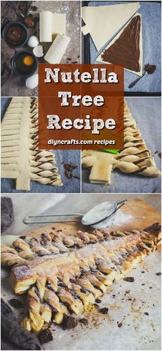 This Yummy Nutella Tree Is The Perfect Holiday Dessert - DIY & Crafts