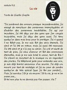 Lettre d amour de Charlie Chaplin