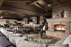 AMS Landscape Design Studios, Inc. - Bartholomew Residence Cabana - interior view